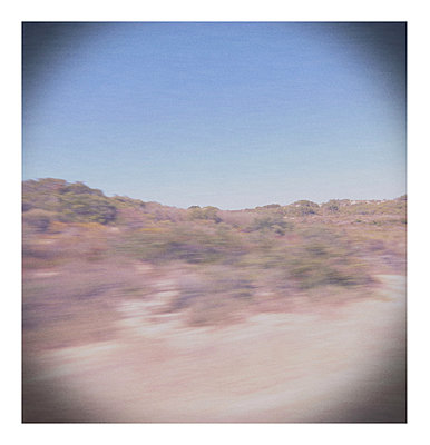 Lomo of the african outback - p1089m855776 by Frank Swertz