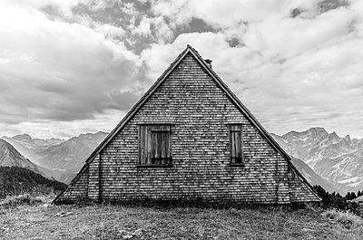 Berghütte am Diedamskopf - p1463m2192607 von Wolfgang Simlinger