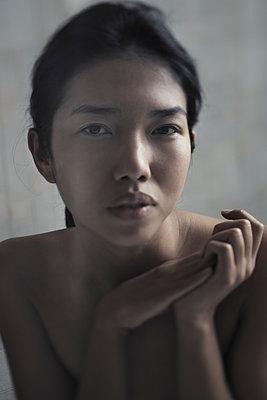 Beautiful young adult Asian woman - p1577m2253553 by zhenikeyev