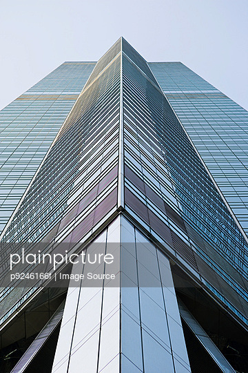 Office building in hong kong - p9246166f by Image Source