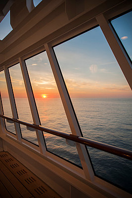 Sunset at the Atlantic ocean - p171m919328 by Rolau