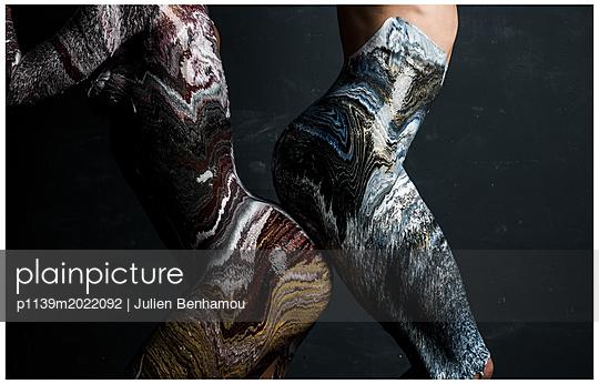 Körperbemalung - p1139m2022092 von Julien Benhamou