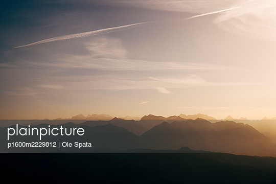 Deutschland, Bayern, Allgäu, Alpen - p1600m2229812 von Ole Spata
