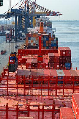 Containerterminal Bremerhaven - p1099m1516525 von Sabine Vielmo