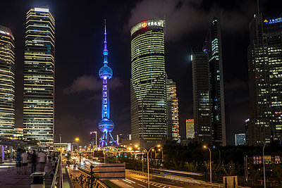 Oriental Pearl Tower - p1243m1057282 by Archer