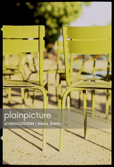Paris, inside a Park - p1654m2253684 by Alexis Bastin