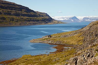 Island Skötufjördur - p1294m1201569 von Sabine Bungert
