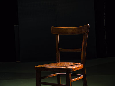 Wooden chair - p318m2087167 by Christoph Eberle