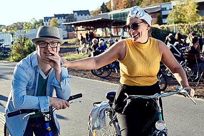 Fahrradtour mit Downsyndrom - p1164m2111298 von Uwe Schinkel