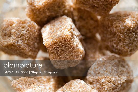 Brauner Zucker Nahaufnahme - p1057m1216956 von Stephen Shepherd