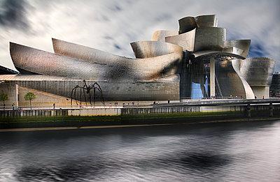 Guggenheim Museum Bilbao - p792m2210102 by Nico Vincent