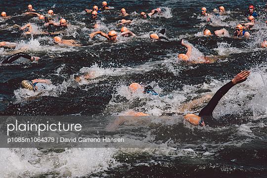 23. Triathlon in Hohenfelden bei Erfurt. - p1085m1064379 von David Carreno Hansen