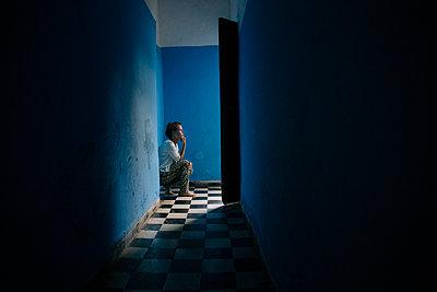 Blue moods - p1627m2203976 von MANN