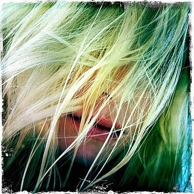 Blonde hair - p427m831827 by R. Mohr
