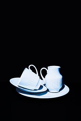 White coffee set - p1149m2031051 by Yvonne Röder