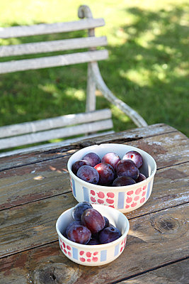 Fresh plums - p8720023 by MYOKA