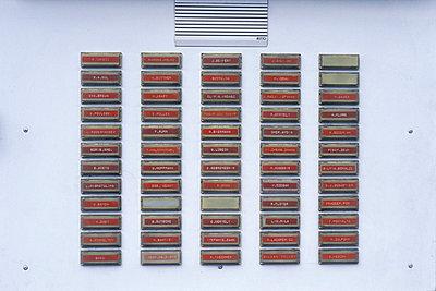 Klingelschilder - p2550041 von T. Hoenig