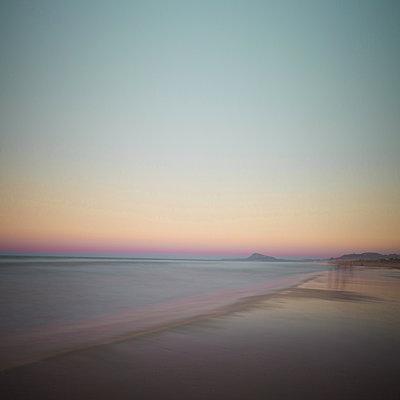 On the beach - p1240m2063360 by Adeline Spengler