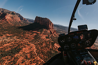 Inside Helicopter - p1507m2149495 by Emma Grann