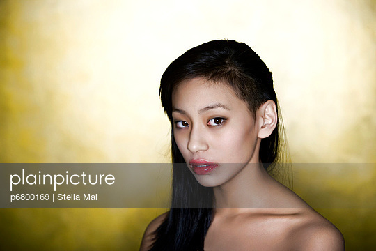 Asian beauty - p6800169 by Stella Mai