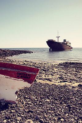 Wreck, Lanzarote - p1162m963179 by Ralf Wilken