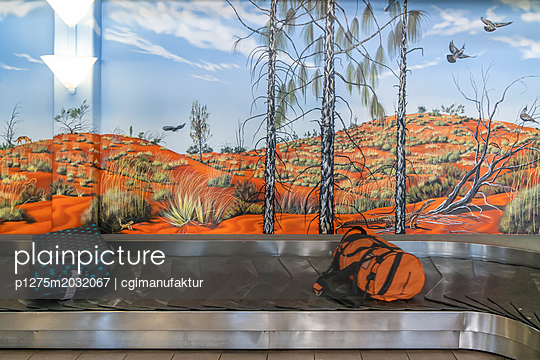 Australien Airport Ayers Rock Uluru - p1275m2032067 von cgimanufaktur
