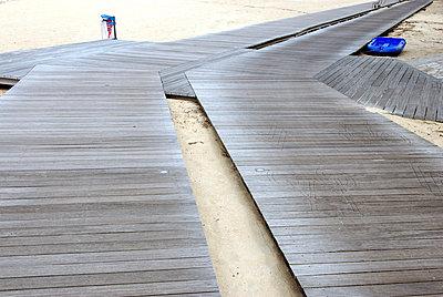 Laufsteg für Fuß und Rad - p260m918273 von Frank Dan Hofacker