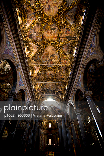 San Giuseppe dei Teatini Church, Palermo, Italy - p1062m953608 by Viviana Falcomer