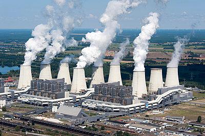 Braubkohlekraftwerk Jänschwalde - p1079m1042150 von Ulrich Mertens