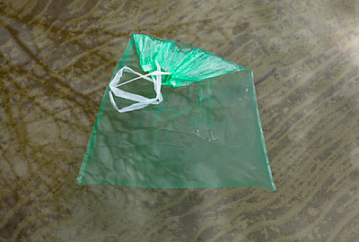 Plastic bag in water - p1149m951265 by Yvonne Röder