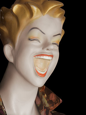 1950s Cartoon style mannequin  - p1280m2207580 by Dave Wall