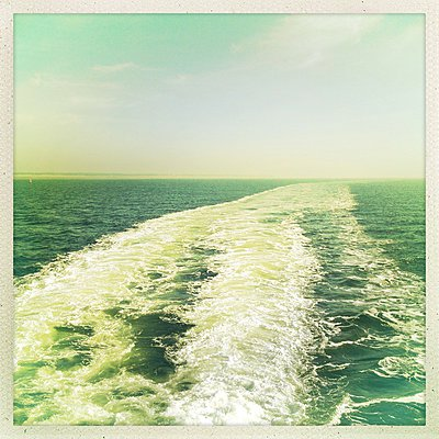 Germany, North Frisia, Foehr, ferry - p300m1009769 by Möller&Möller