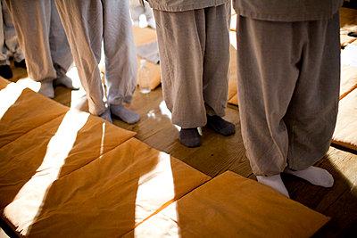 Buddhistische Zeremonie - p672m740219 von Vanessa Chambard