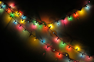 Fairy lights - p949m658254 by Frauke Schumann