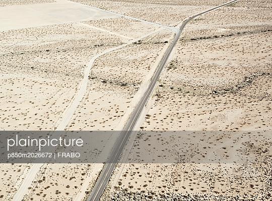 Straße in der Wüste - p850m2026672 von FRABO