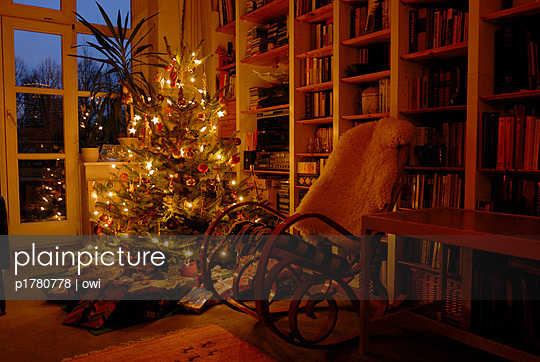 plainpicture plainpicture p1780778 weihnachten zuhause plainpicture owi. Black Bedroom Furniture Sets. Home Design Ideas