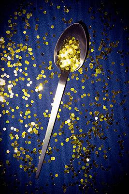 Goldener Löffel - p1149m2126876 von Yvonne Röder
