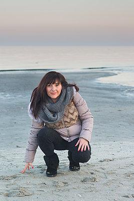 On the beach - p1323m1362289 by Sarah Toure
