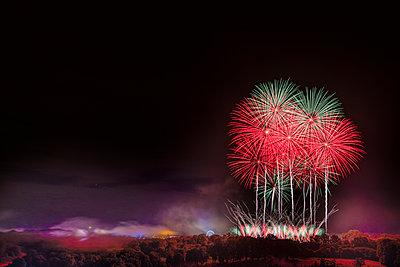 Feuerwerk - p335m2233931 von Andreas Körner