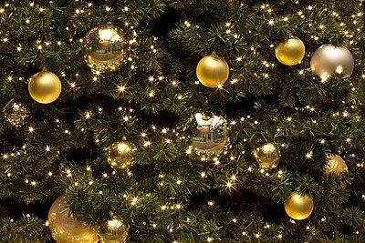 Goldene Weihnachtsdeko - p6060665 von Iris Friedrich