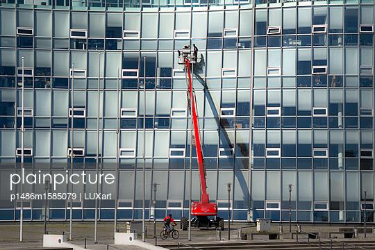 Gebäudereiniger - p1486m1585079 von LUXart