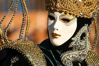 Maskierte in Venedig - p1620034 von Beate Bussenius
