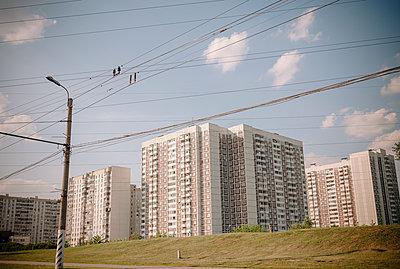 Hochhäuser in Moskau - p1085m2073257 von David Carreno Hansen