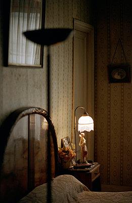 Schlafzimmer in Paris - p2310027 von Ille Oelhaf
