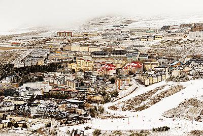 Winter cityscape - p312m1211180 by Per Eriksson