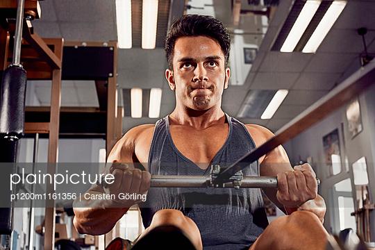 Bodybuilding - p1200m1161356 von Carsten Görling