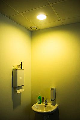 Hospital bathroom  - p1418m1572301 by Jan Håkan Dahlström