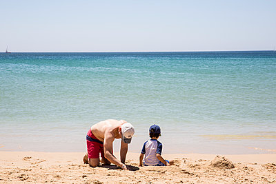At the Beach - p535m2093587 by Michelle Gibson
