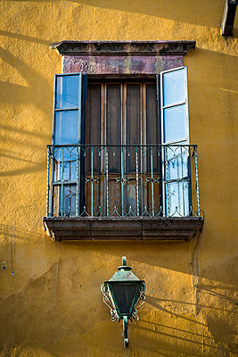 Balcony, Mexico - p1170m1573323 by Bjanka Kadic