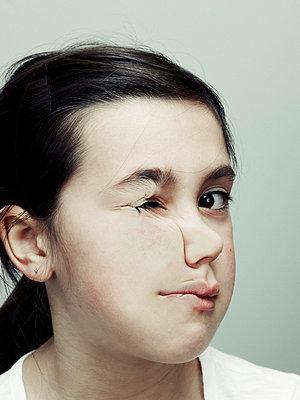 Verzerrtes Gesicht - p5840556 von ballyscanlon